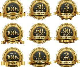 Different Award design elements vector 01