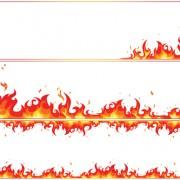 Link toSet of burning paper vector art 04