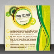 Link toCreative business brochure covers vector graphic 01