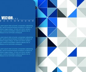 Creative Business brochure covers vector graphic 02