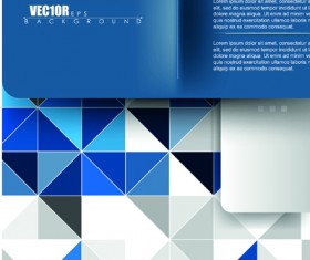 Creative Business brochure covers vector graphic 03