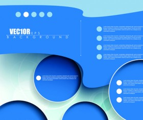 Creative Business brochure covers vector graphic 05