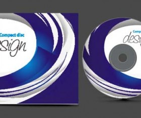Abstract of CD Cover vector set 11