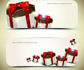 Christmas Gifts elements art vector graphic 02