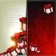 Link toChristmas gifts elements art vector graphic 04