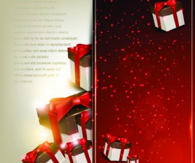 Christmas Gifts elements art vector graphic 04