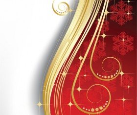 Exquisite Christmas backgrounds vector 01
