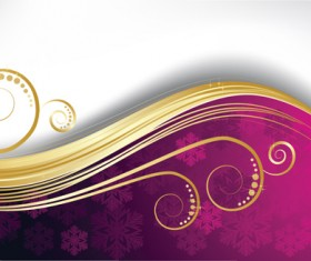 Exquisite Christmas backgrounds vector 02