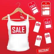 Link toDifferent clothes elements vector 03