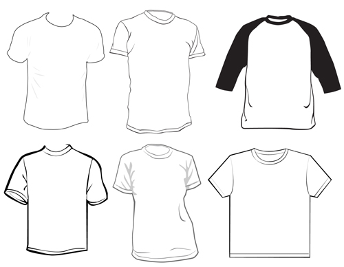 Different Clothes elements vector 07