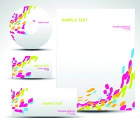 Corporate Identity Kit cover vector set 06