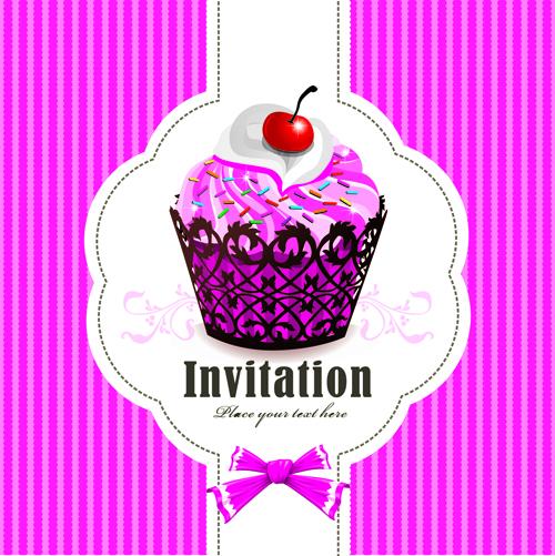 Cute Cupcake Logos Cute Cupcakes Invitations