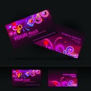 Link toBrilliant business card design vector 01