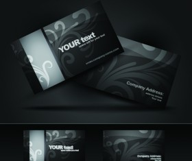 Brilliant Business card design vector 02