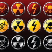 Link toDifferent danger signs vector icons set 02