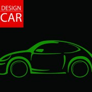 Link toSet of car design elements vector graphic 01
