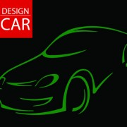 Link toSet of car design elements vector graphic 02