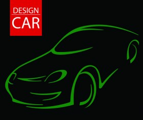 Set of car Design elements vector graphic 02