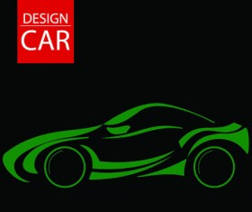 Set of car Design elements vector graphic 03