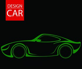 Set of car Design elements vector graphic 04