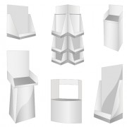 Link toDifferent display panels design elements vector 04