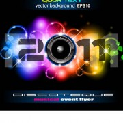 Link toSet of musical event flyer backgrounds vector 01