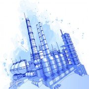 Link toSet of gas and oil design elements vector 01