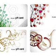 Link toStylish gift cards vector material set 01