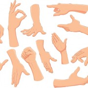 Link toDifferent gesture vector 02