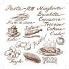 Hand drawn Illustrations Food elements vector 05