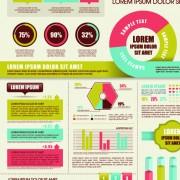 Link toBusiness infographic design elements vector material 03