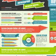 Link toBusiness infographic and diagram vector graphics 02