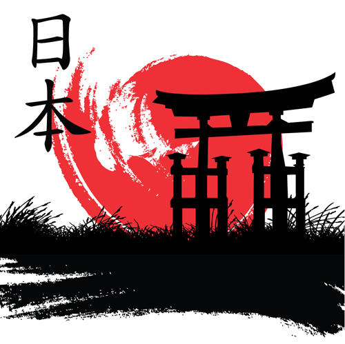 Japan style elements vector graphics 01 over millions vectors japan style elements vector graphics 01 toneelgroepblik Images