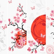 Link toJapan style elements vector graphics 05