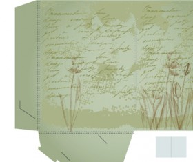 Set of Layout Packing box design elements vector 04