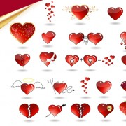 Link toSet of love theme icon mix vector 02