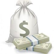 Link toSack with money design vector graphics set 02
