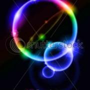 Link toNeon glitter background vector set 01