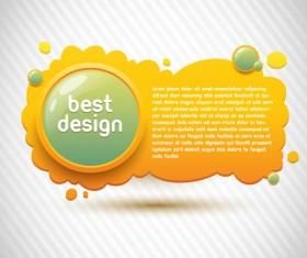 Sparkling Orange backgrounds vector graphics 03