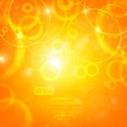 Link toSparkling orange backgrounds vector graphics 05