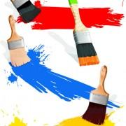 Link toColorful paint elements art vector 04