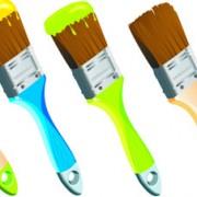 Link toColorful paint elements art vector 07