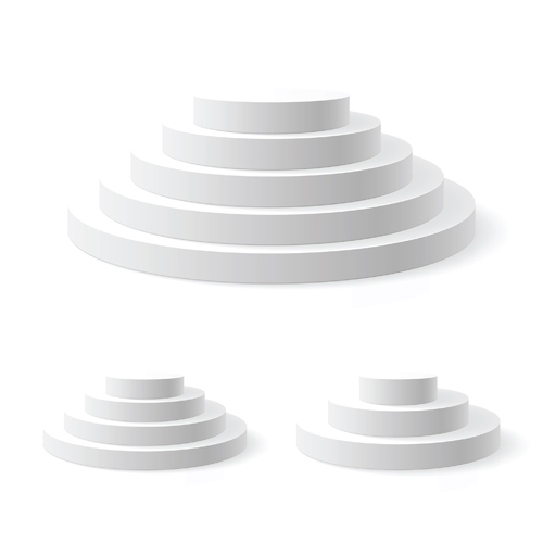 Elements of Podium background design vector 01 - Vector