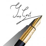 Link toDifferent realistic pen design vector set 04