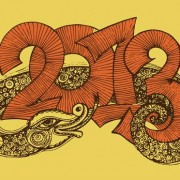 Link toSet of 2013 year of snake design vector 12