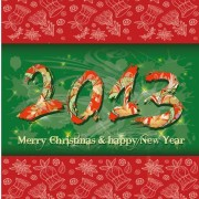 Link toSet of 2013 year of snake design vector 16