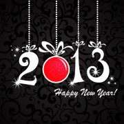 Link toShiny 2013 new year design elements vector 01