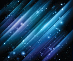 Space Object backgrounds vector set 01