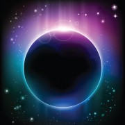 Link toSpace object backgrounds vector set 05