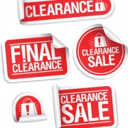 Link toColor discount stickers design vector graphics 01